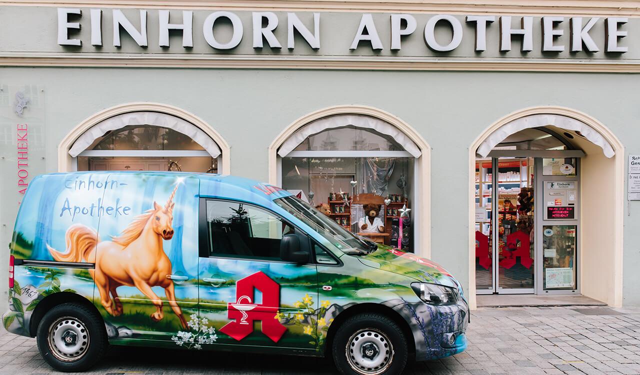 Einhorn Apotheke, Straubing