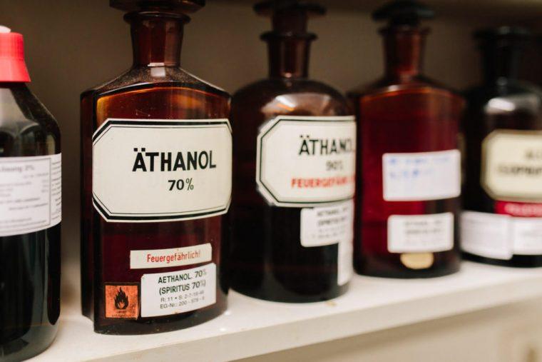 Äthanol, Einhorn Apotheke, Straubing